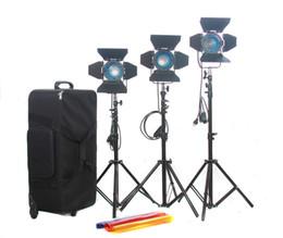 3*300W 500W Fresnel Tungsten Light Video Studo Spot Light