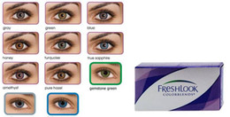 Wholesale New Style eye contact lenses freshlook Lenses High Quality Freshlook Contact Lenses12 Kind Color Contact Tones Colors