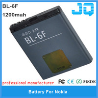 Cheap BL-6F high Replacement Nokia Best for Nokia N78,N79,N95 8GB 1200mah mobile battery BL 6F