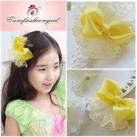 Cheap Barrettes & Clips children headdress flower Best Children's Party Hair Clips