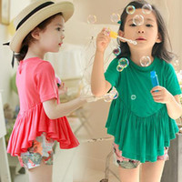 TuTu Summer other 3 Pair Lot Wholesale 2014 Summer Models Female Childrens Clothing Baby Child Princess Sleeve Dress Sub Girl Kids