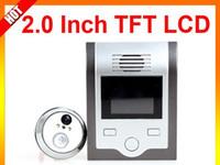 Wholesale 2014 New Electronic Inch TFT LCD Video Door Phone Home Safety Video Door Ring Doorbell