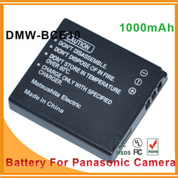 Wholesale BCE10 CGAS008 Lithium Li ion rechargeable Camera Battery For Panasonic VW VBJ10 DMC FX55 SDR S10