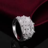 Wholesale 408 Crown Ring silver ring silver fashion jewelry fashion ring