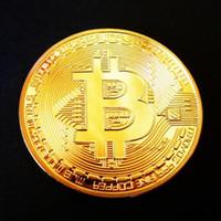 Wholesale New Crafts Bitcoin commemorative mint gold bullion numismatics monnaie de paris expanded metal gold coin collectible bitcoins