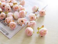 Wedding decorative bags - New arrival bag Artificial Flower Camellia Wedding Decorative Flowers Multicolor For Choise cm