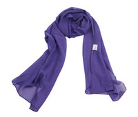 Wholesale Women s Pure Chiffon Scarves fashion Candy colors Scarves CM