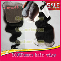 Brazilian Hair Natural Color Body Wave In Stock!!! Silk Base Top Closure Body wave Brazilian Hair Silk base Lace Top Closure 10-20inch ,Unprocessed Natural color