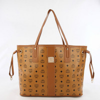Wholesale US market Top quality New MCM Fashion PU Leather Handbags Tote Messenger Shoulder bags handbags women