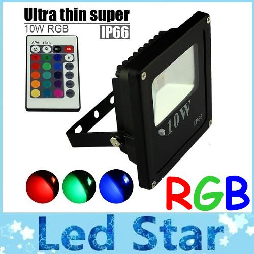 Rgb led flood lights éclairage extérieur 10w 20w 30w 50w led flood lights éclair