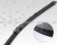 Wholesale amp Tracking quot quot Frameless Steel Rubber Rain Window Windshield Wiper Blade for Ford Focus Sedan CA00992
