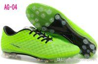 Soft Spike Men Summer Cheap Sports Shoe Soccer Cleats Men HyperVenom Phantom AG Boots Football Footwear Lime Fashion Sneakers Basketball Sport Men china wholesale