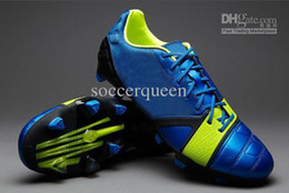 Wholesale Hotsale Mens NC Football Shoes Nictrocharge Outdoor Soccer Cleats Blue Red Black Name Brand Sports Boots Best Quality Cheap price free