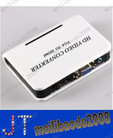 HDMI Cable hdtv converter box - P Laptop PC TV Cable VGA Audio Video to HDMI HDTV HD Converter Box Adapter MYY1100