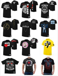 Wholesale Wrestling t shiirt Christmas present DanielBryan YES Authentic T Shirt Randy punk Daniel Sena DX Simos