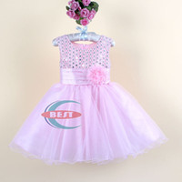 Baby girls Party Dress with flower girls evening dress Child...