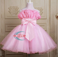 Baby girls Party Dress girls evening dress suspender dress h...