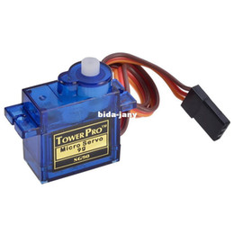 Wholesale TowerPro SG90 G micro small servo motor RC Robot Helicopter Airplane controls