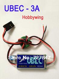 Wholesale 3PCS Hobbywing V V switchable HOBBYWING RC UBEC V V A Max A Lowest RF Noise BEC