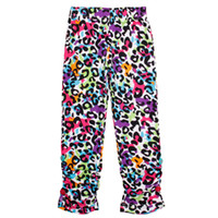 Wholesale Nova cheap factory price kids floral pants printed tights spandex leggings baby tights ruffle leggings girls G3905