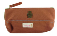Wholesale Cute Creative Solid Colour Pencil Case Pen Bag x85mm