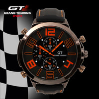 Fashion Unisex Not Specified Newest Arrival Brand Military GT Watch Men Racing Gift Watch Army big dial Japan PC movement Cool Watches V6 style Free shipping