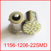 Wholesale 10pcs Car led lamp BA15S LED smd SMD Leds light SMD turn signal reverse light