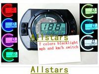 Wholesale Motorcycle digital speedometer LCD digital Odometer D