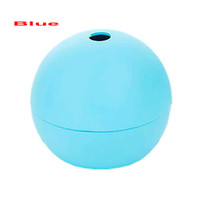 Wholesale 1Pc New Silicone Round Ball Maker Mold Sphere Cool Ice Mould Whisky Drinking