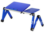 Metal School Furniture Computer Desk Free Shipping Computer Desk Laptop Table aluminium Computer Desk adjustable folding table with computer bed tray school desk