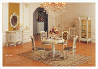 Wholesale Antique dining room furniture antique reproduction french style furniture