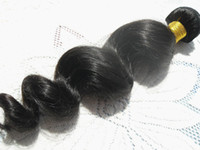Loose Wave beauty products - wholesaleMalaysia virgin loose wave hair weaves beauty queen hair product natural black human hair extensions bundles beauty weft