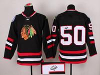 autographs sale - Autographed Stadium Series Blackhawks Corey Crawford Black Ice Hockey Jerseys Mens Hockey Wears Hot Playoffs Team New Jersey Sales
