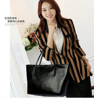 Totes Women Plain 2014 Hot women leather totes handbag fashion designer candy color shoulder bags 2pcs lot free shipping