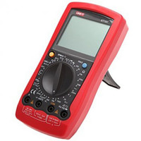 Wholesale Fcarobd pc UT107 digital Automotive Multimeter UNI T UT107 Multi Purpose Meter handheld UT107 Manual Ranging Automotive Multimeters UT107