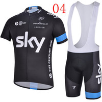 Wholesale Sky Team Cycling Jerseys Collection All the different Color Short Bib Pants Cycling Clothing Pad Shorts Road Bike Cycling Wear