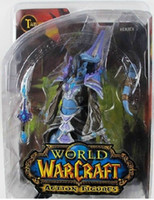 Wholesale DC Unlimited WOW World of Warcraft SERIES Tamuura Dranei Mage inches Collectable Game Toys Model Doll