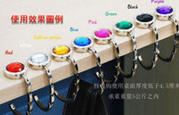 Wholesale High quality Bag hanger Purse holder Foldable Handbag Hook