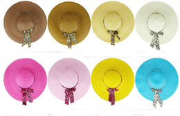 Wholesale Straw Hat Womens Fashion - designer womens straw hats outdoor sun hats women beach hats women's beanies wide brim hats topee hat floppy hat summer caps 56-58cm