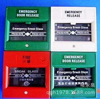 Wholesale hot sale Fire emergency switch broken glass broken glass fire alarm button FIRE button to open the door
