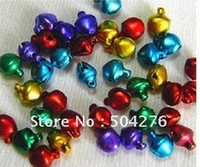Wholesale Freeshipping MM Small Jingle Bells Bell Ring Tinkle Bell Mix Color Blending