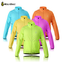 Cheap Anti UV Cycling Jackets Best Unisex Spandex WOLFBIKE