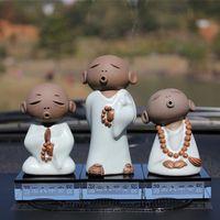 Wholesale Car Decoration upscale perfume car seat car supplies ceramic statues creative jewelry pendant car