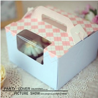 Wholesale cupcake boxes chocolate paper gift packaging box cm