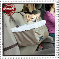 Travel & Outdoors baskets bags - Pet car basket Booster seat car hanging blanket bed portable doggie bag
