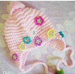 Handmade crochet winter beanie tamhat cap barret hats caps knit hat 24pcs lot MIXED