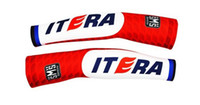 Arm Warmers Adult (Men) S-XXL 2014 KATUSHA TEAM RED Cycling ARM Warmers Sleeve Spandex Coolmax Lycra UV Protection Size:S-XXL