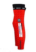 Leg Warmers Adult (Men) S-XXL 2013 KATUSHA TEAM RED K06 Cycling Sport Leg Warmers Sleeve Spandex Coolmax Lycra UV Protection Size:S-XXL