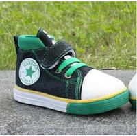 Wholesale high top shoes little feet warm and breathable Velcro shoes for children