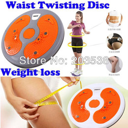 Wholesale Drop Shipping Magnet Balance Rotating Fitness Core Waist Twisting Disc Weight Loss Fitness Equipments Twister Plate